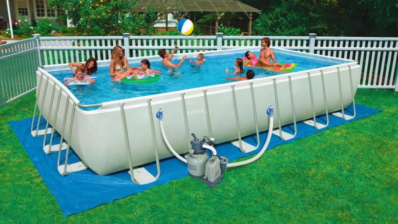 arreda il giardino con le piscine fuori terra intex